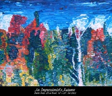 An Impressionist's Autumn (Reflected Fall Colours)