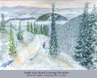 South Side Road, Granite Mtn, The West Kootenays, BC
